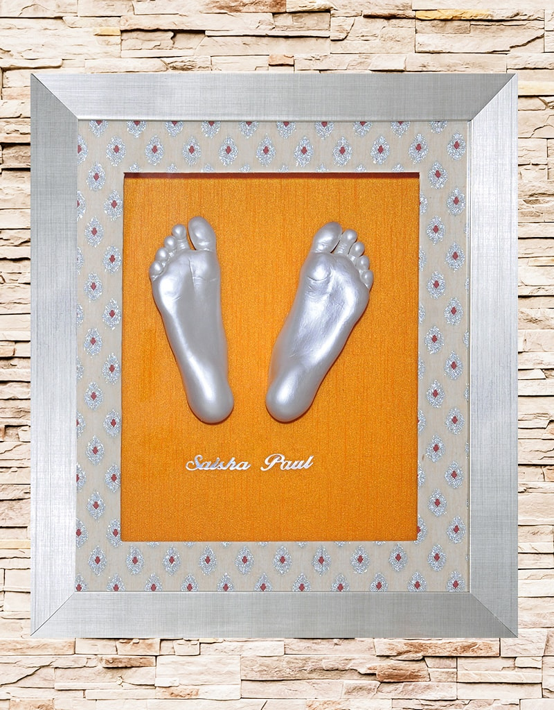 Baby feet casting1